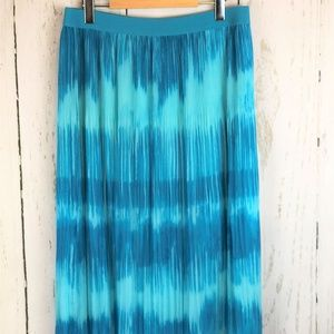 💰2 for $20 Ruby Road Crinkle Skirt Turquoise